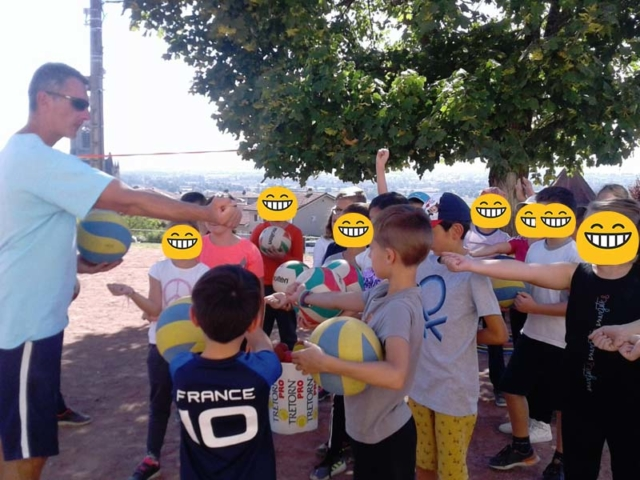 Cycle volley Ecole St-Joseph Saint Galmier photo 3