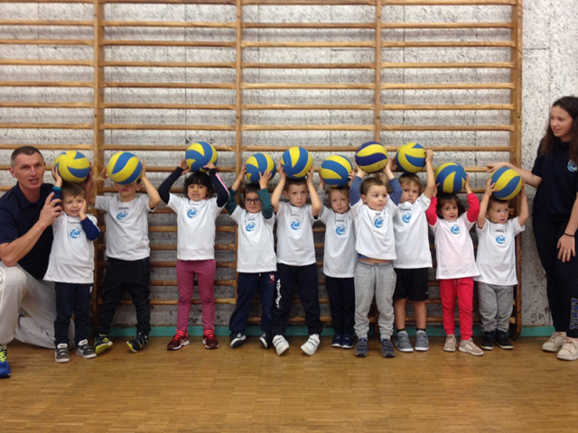 Baby Volley Andrézieux Bouthéon 2018-2019