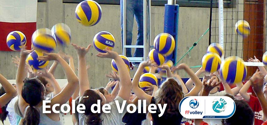 Ecole de volley ball labellisée FFVB