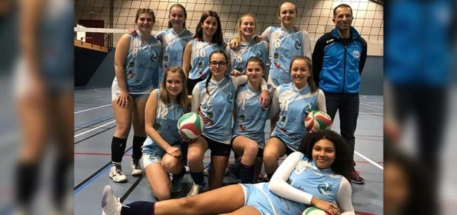 M 17 équipe 1 féminine 2018-19 EFVB