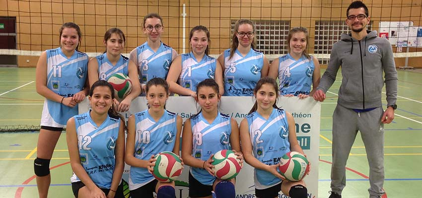 M17 équipe 2 2018-19 féminine EFVB