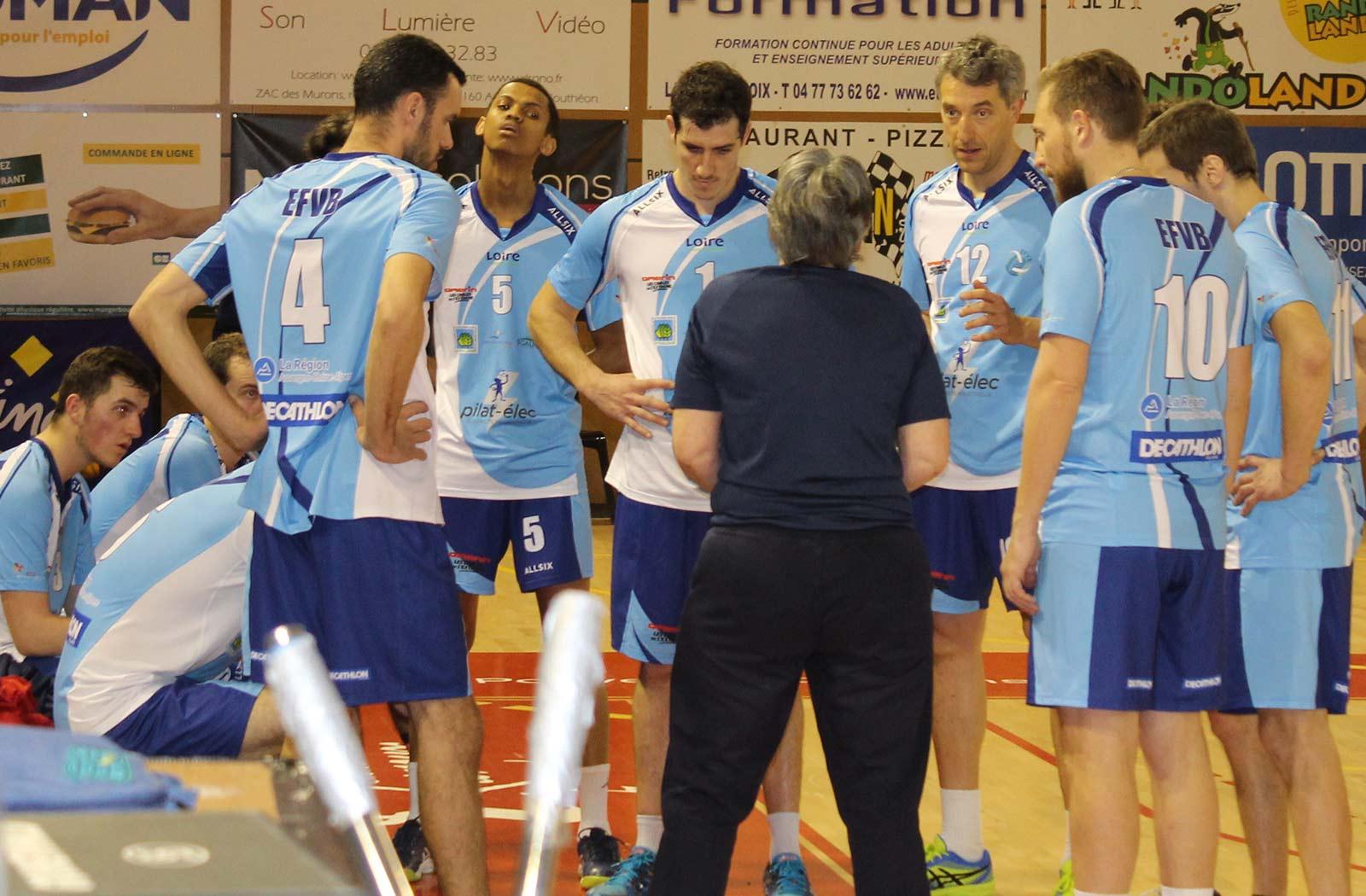 EFVB vs CASE : temps mort volley