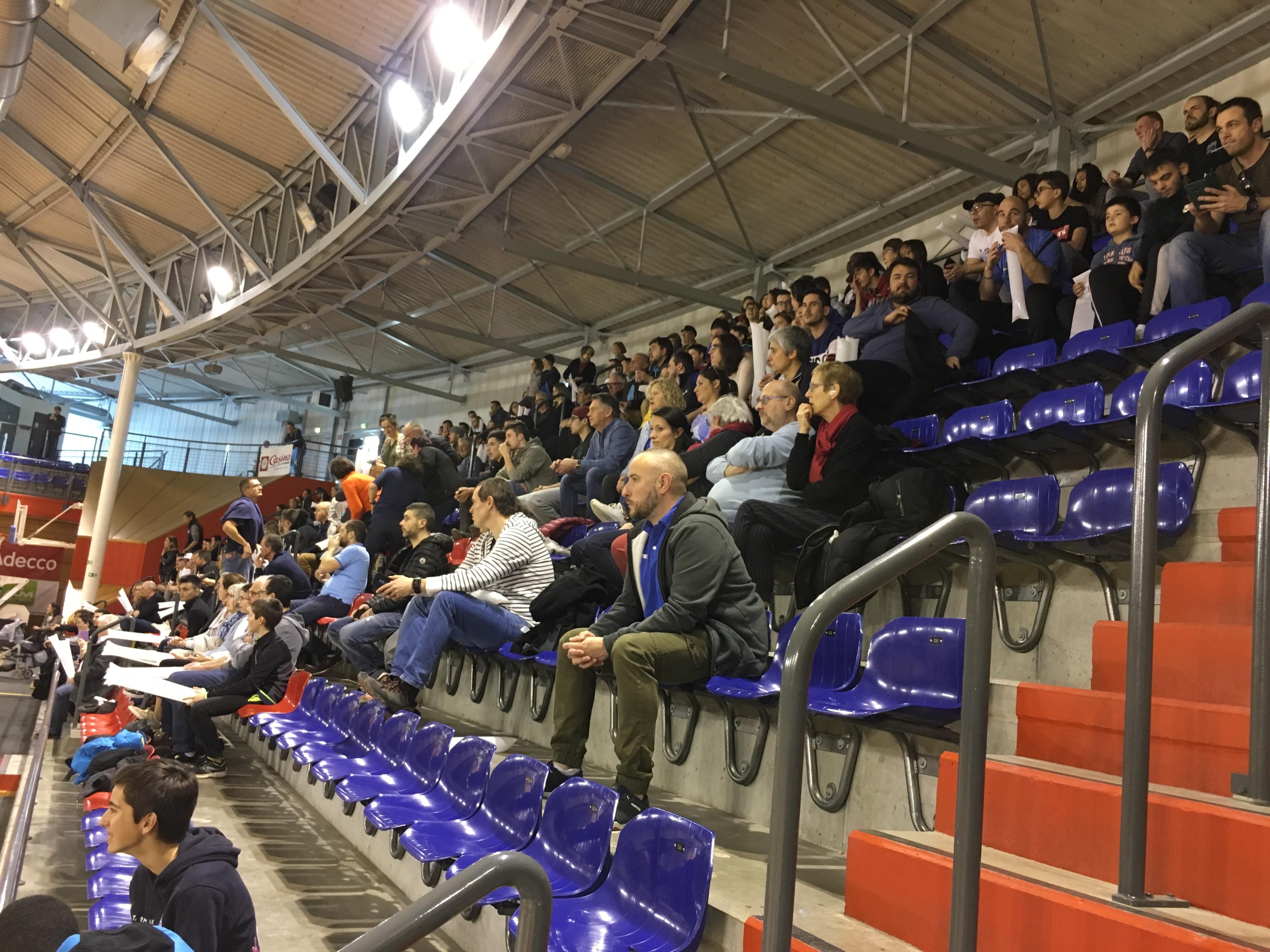 EFVB / CASE : les supporters sont là !