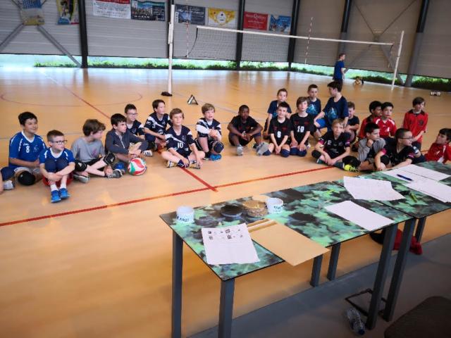 Finales régionales M11M Francheville Garçon