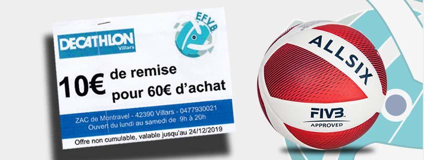 Remise 10 euros décathlon villars