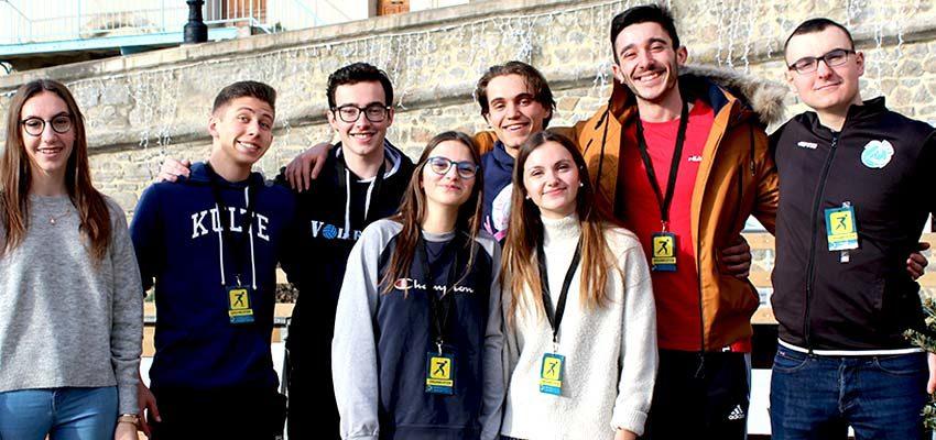 Patinoire de St-Galmier : Les jeunes volleyeurs ont répondu présent !