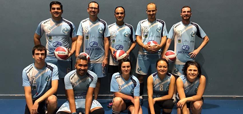 Volley Loisir saison 2019-2020 Equipe 4