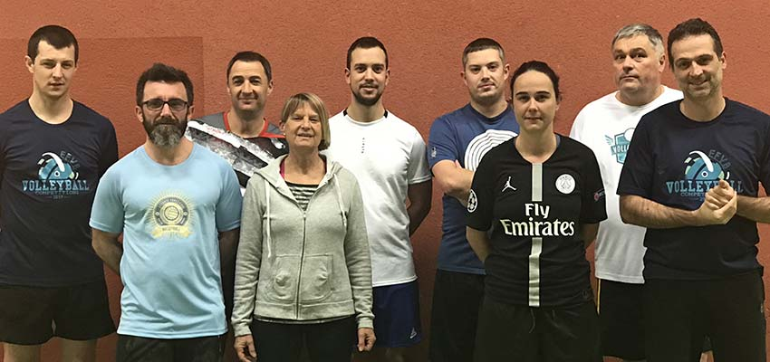 Volley Loisir saison 2019-2020 Equipe 1