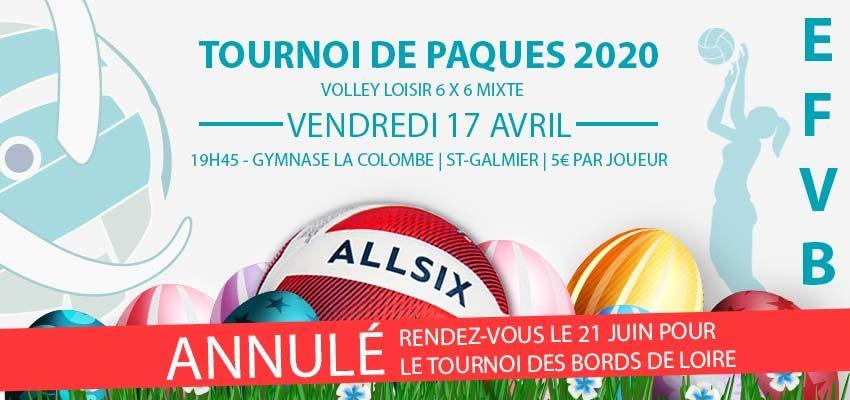 Tournoi de Pâques 2020 de volley ball