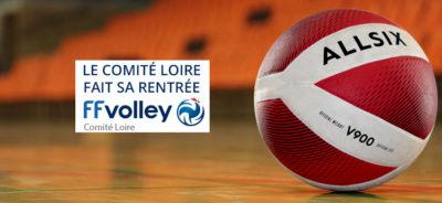 Rentrée 2020-21 pour le comité départemental Loire de Volley-Ball