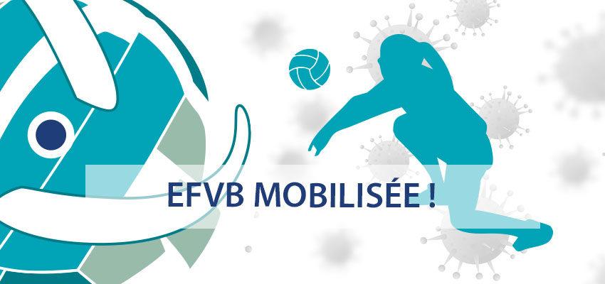 Reconfinement national : l'EFVB reste mobilisée