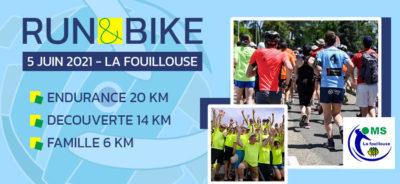 EFVB partenaire du Run And Bike de La Fouillouse
