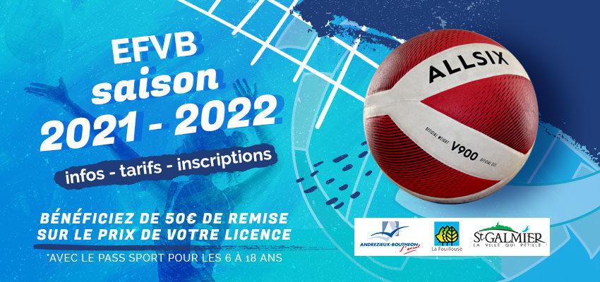 Rentrée et saison 2021 – 2022